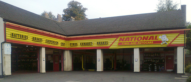 National Tyres and Autocare - Truro branch