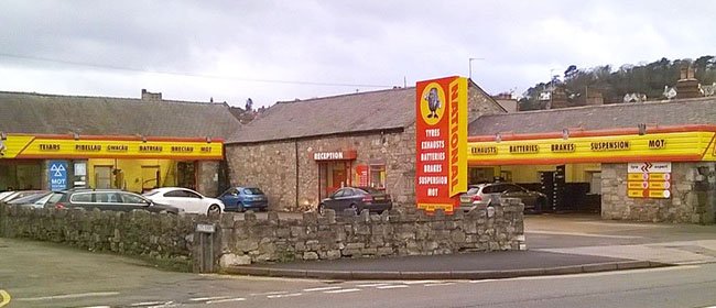 National Tyres and Autocare - Bangor branch