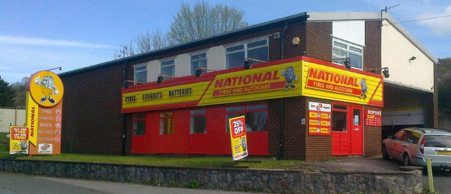 National Tyres and Autocare - Colwyn Bay branch