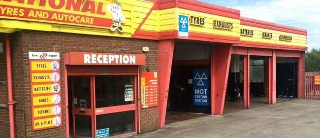 National Tyres and Autocare - Northwich branch
