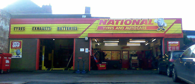National Tyres and Autocare - Hucknall branch