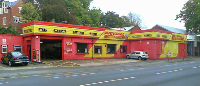 National Tyres and Autocare - Nottingham (Castle Boulevard NG7) branch