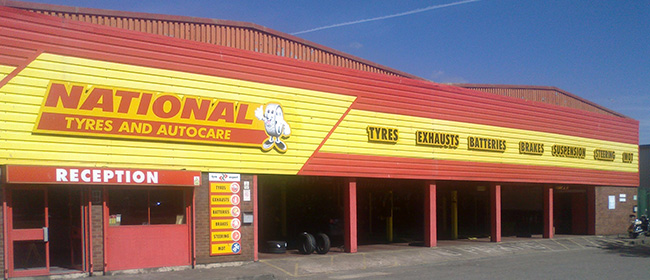 National Tyres and Autocare - Cardiff (Penarth Road CF11) branch