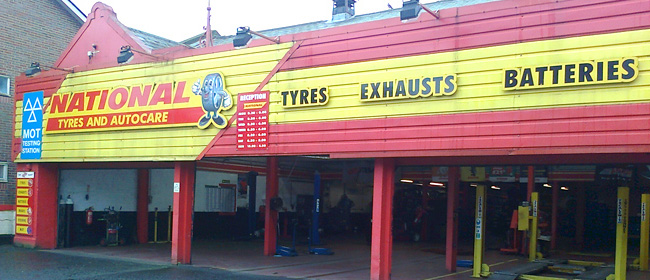 National Tyres and Autocare - Gateshead branch