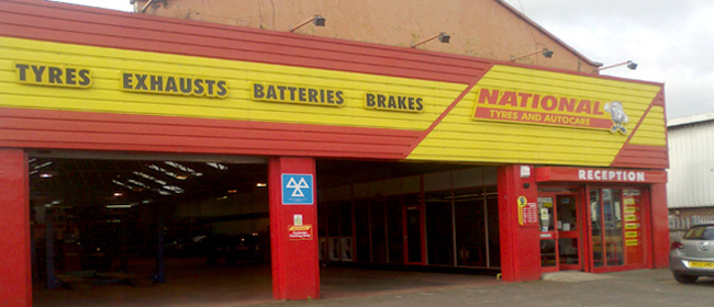 National Tyres and Autocare - Salisbury branch