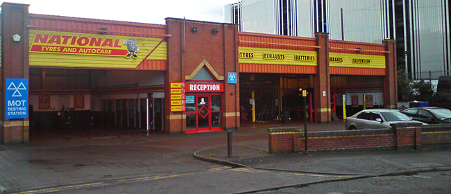 National Tyres and Autocare - Coventry (Gosford Street CV1) branch