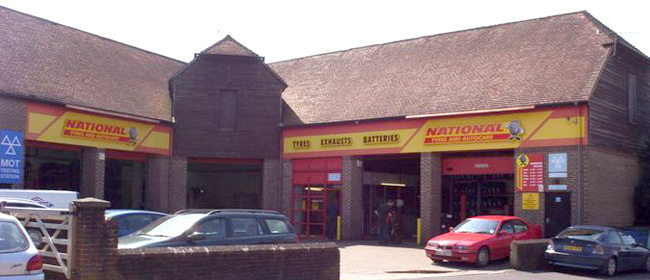 National Tyres and Autocare - Horsham branch