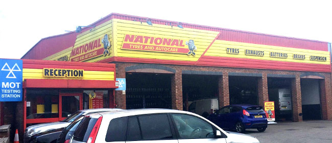 National Tyres and Autocare - Wigan branch