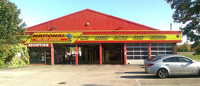 National Tyres and Autocare - Burton-On-Trent branch