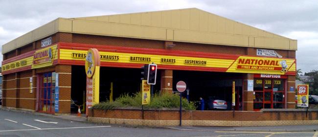 National Tyres and Autocare - Ashton-Under-Lyne branch