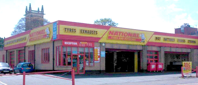 National Tyres and Autocare - Folkestone branch