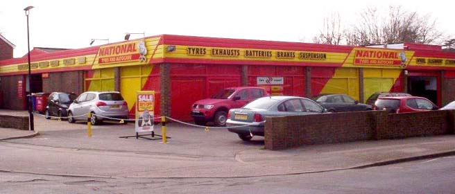 National Tyres and Autocare - Hassocks branch