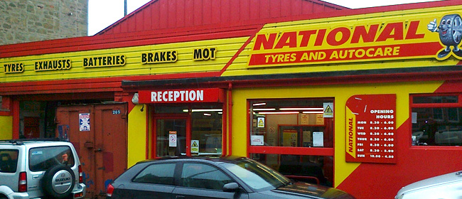 National Tyres and Autocare - Dundee (Strathmartine Road DD3) branch