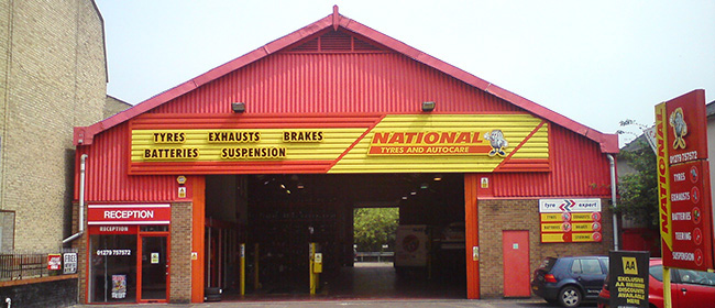 National Tyres and Autocare - Bishops Stortford branch