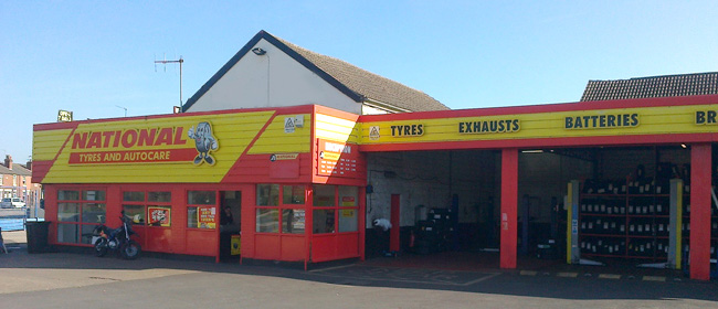 National Tyres and Autocare - Doncaster branch