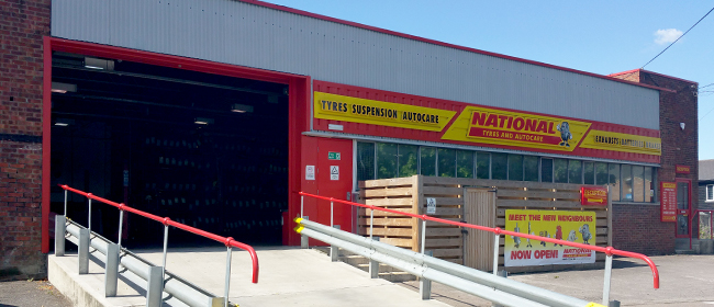 National Tyres and Autocare - Hertford branch