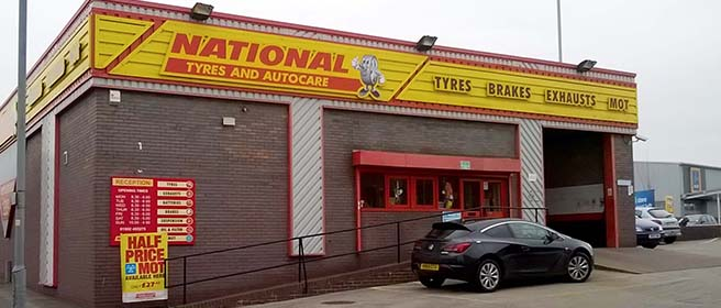 National Tyres and Autocare - Wolverhampton  branch