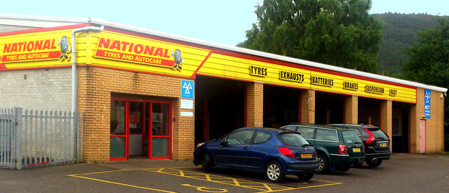National Tyres and Autocare - Fort William branch