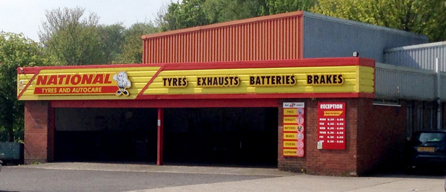National Tyres and Autocare - Skelmersdale branch