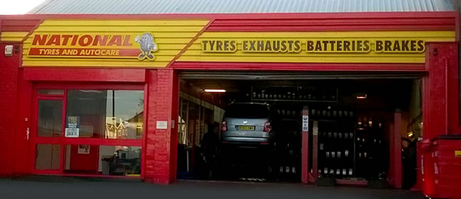 National Tyres and Autocare - Hall Green branch