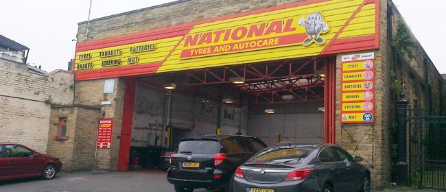 National Tyres and Autocare - Halifax branch
