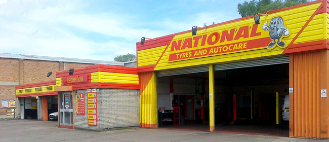National Tyres and Autocare - Harrogate branch