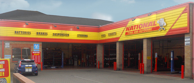 National Tyres and Autocare - Bedford branch