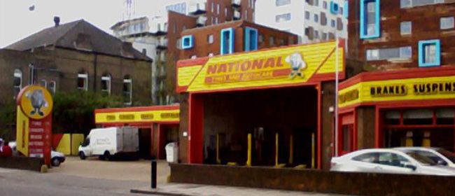 National Tyres and Autocare - Greenwich branch