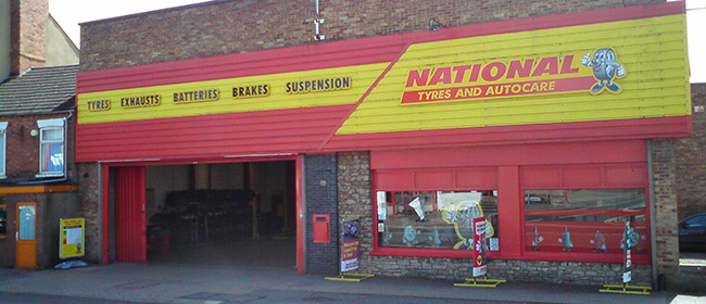 National Tyres and Autocare - Wellingborough branch