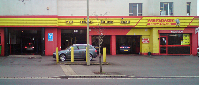 National Tyres and Autocare - Oxford branch