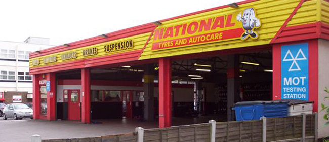 National Tyres and Autocare - Hadleigh branch