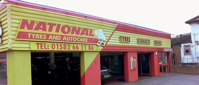National Tyres and Autocare - Dunstable branch
