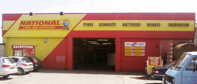 National Tyres and Autocare - Newquay branch