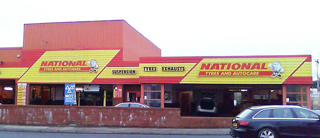 National Tyres and Autocare - Taunton branch