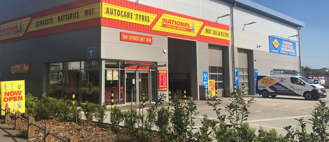 National Tyres and Autocare - Watford branch