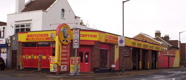 National Tyres and Autocare - Wimbledon branch