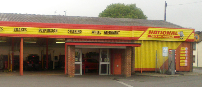 National Tyres and Autocare - Warminster branch