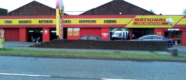 National Tyres and Autocare - West Bromwich branch