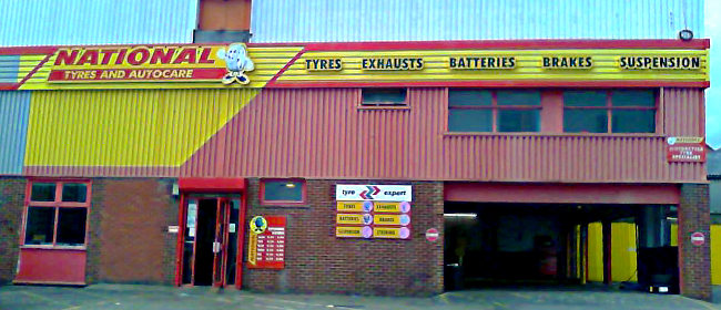 National Tyres and Autocare - Loughborough branch