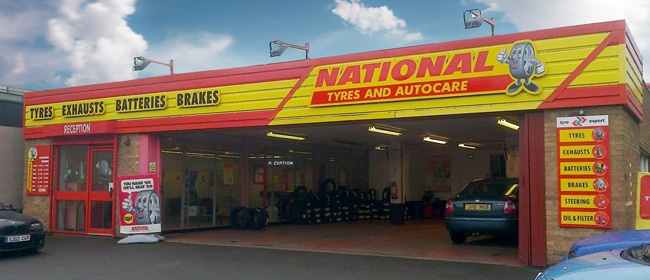 National Tyres and Autocare - Northallerton branch
