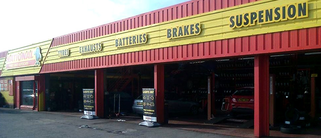 National Tyres and Autocare - Blackburn branch