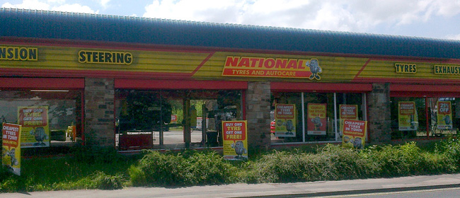 National Tyres and Autocare - Accrington branch