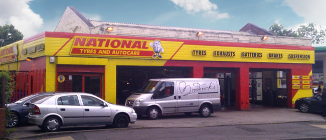 National Tyres and Autocare - Manchester (Northenden M22) branch