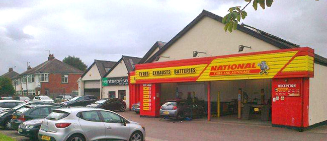 National Tyres and Autocare - Shrewsbury branch