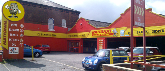 National Tyres and Autocare - Stockport branch