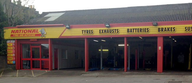National Tyres and Autocare - Edinburgh (Ratcliffe Terrace EH9) branch