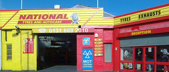 National Tyres and Autocare - Edinburgh (2 Milton Rd EH15) branch