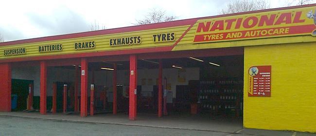 National Tyres and Autocare - Edinburgh (Stevenson Road EH11) branch