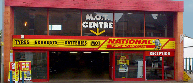 National Tyres and Autocare - Ayr branch