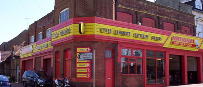 National Tyres and Autocare - Margate branch